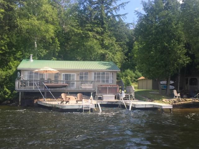 cottage 347 for rent on lake of bays near dorset in district of rh cottagevacations com Dorset Tower Ontario Ontario Canada