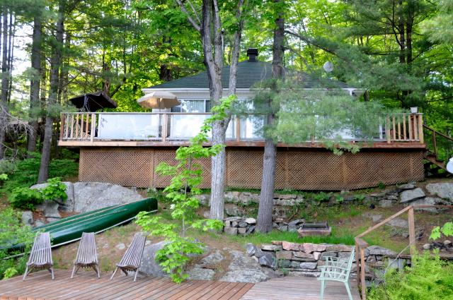 cottage 703 for rent on otter lake near parry sound in district of rh cottagevacations com