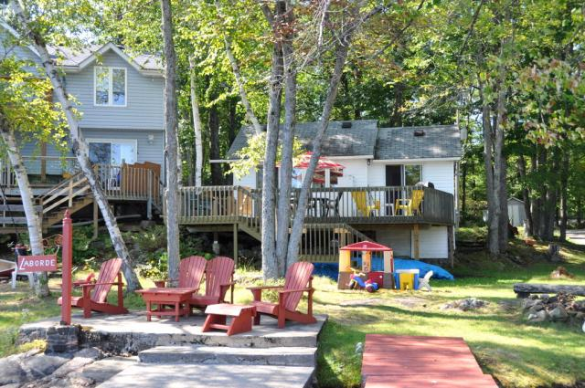 cottage 904 for rent on clearwater lake near gravenhurst in rh cottagevacations com